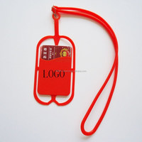 promotional items for 2016 cheap silicone hang rope phone case