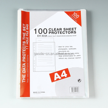 Wholesale stationery office 11 holes sheet protector