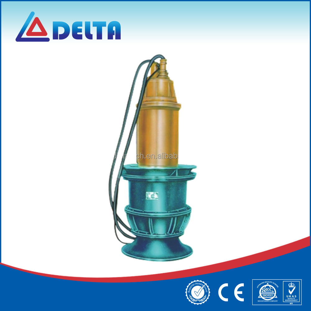 Electric industrial centrifugal submersible water pump