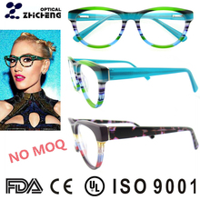 Famous Brands Bright Color Glasses Frame for Men and Women