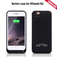 Good price external backup battery charger case for iphone 5 from MTO