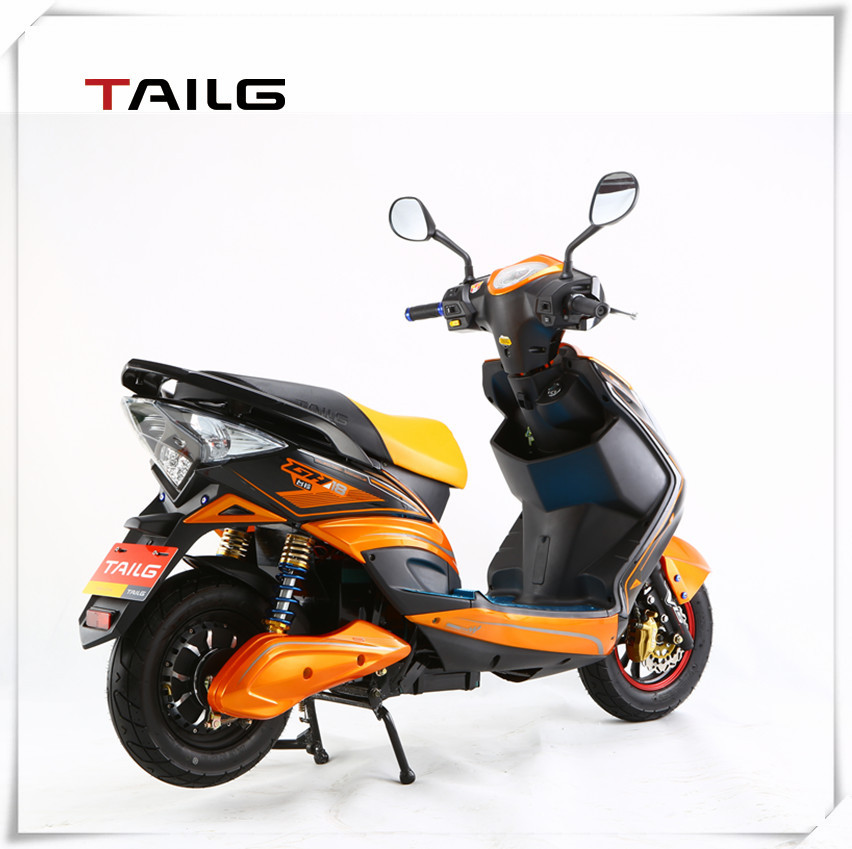 popular adult 2 wheel motorcycle electric moped scooter