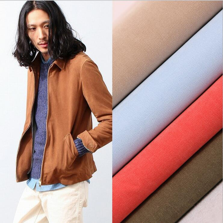 Wholesale 100% Polyester 200D Heavy Micro Fiber Peach Skin Fabric For Jacket 95-160GSM