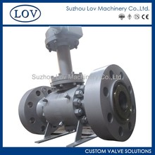 Extended Stem Forged Trunnion Mounted Flanged End Ball Valve
