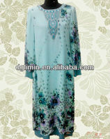 A80475 Ladies Baju Jubah Design With Reasonable Wholesale Price