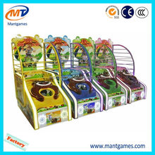 Top grade Small basketball/hot selling funny children kiddy rides