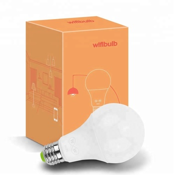 New Product Saving Energy-Lamp High quality wifi bulb color temperature adjustable Light Wifi Work with Alexa Google Assistant