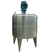 Stainless steel jacketed heated pot mixer blender