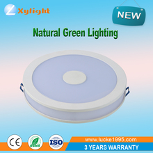 factory sell high quality 24W 225mm size round shape SMD LED panel light