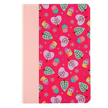 Korea Style Tiny Flowers Leather Material Cover for Ipad Mini 4