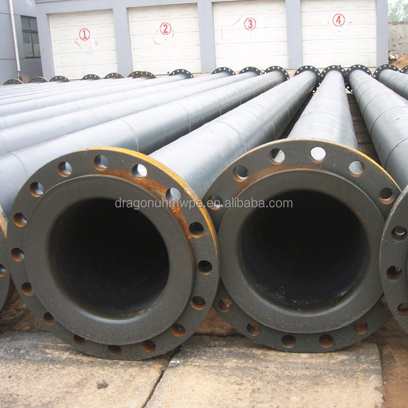 Flexible water transport UHMWPE pipe for sales
