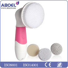 Best Skin Cleansing FACE and BODY BRUSH Microdermabrasion Exfoliator System - Pore Minimizer - Acne Spots Treatment