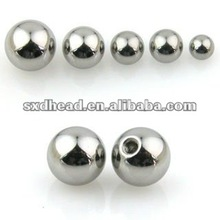 5 6 8mm Drilled Stainless Steel Beads for jewelery