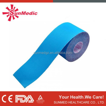 CE approved Different shape medical adhesive tape for skin sport,Kinesiology Tape