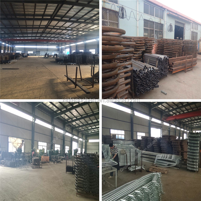 qingdao factory supply plastic pig/goat farm equipment slat floor