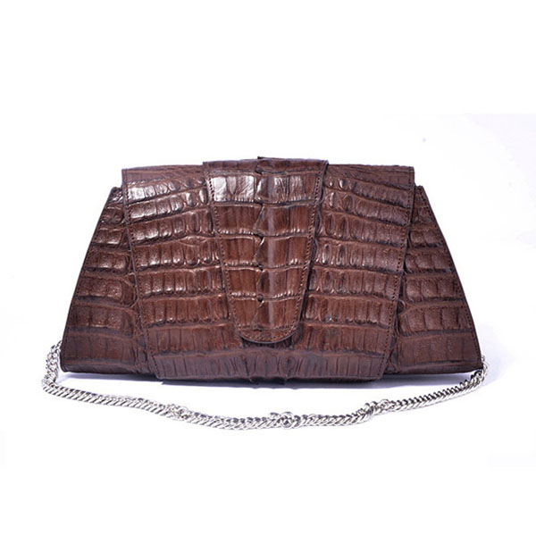 genuine crocodile leather handbag handmade women purses clutch bag wholesale