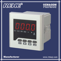 Manufacture Economical Single-phase Digital Amperemeter Ampere Meter 96*96mm