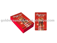 playing cards for budweiser promotion