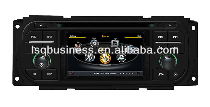 LSQ Star Wholesale Chrysler Grand Voyager Dual Car Radio With A8 Chipest/dual Core/3 Zone Pop/dvr/20 Disc/4g Memory/gps/3g/wifi