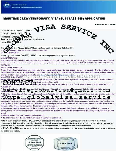 AUSTRALIA JOBS AND VISA AVAILABLE