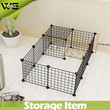 Metal Wire Yard Fence 12 Panels Animal playpen with multiple combination ( FH-ALW0012)