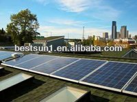 Solar Telecom Base Station 3000w Long warranty housing solar power supply system