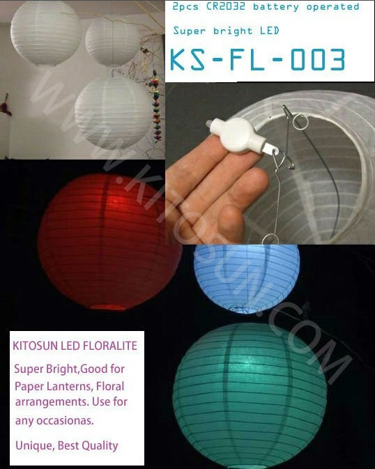 Chinese Mini Party Lights For Floralytes Paper Lantern