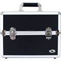 Carrying Aluminum Makeup Salon Train Case Toiletry Kit NEW