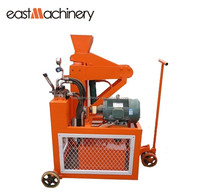 SY1-20E hydraulic mobile low price brick making machine eco brava for sale block laying machine