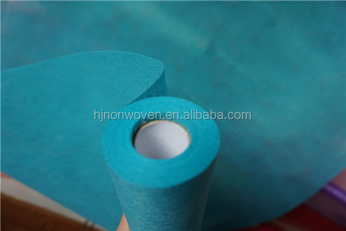 Turquoise TNT Nonwoven Hanging Shutter For Banquet Decor