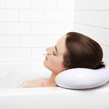 Luxury Spa Bath Pillow with Heavy Duty Suction Cups Bath Pillow