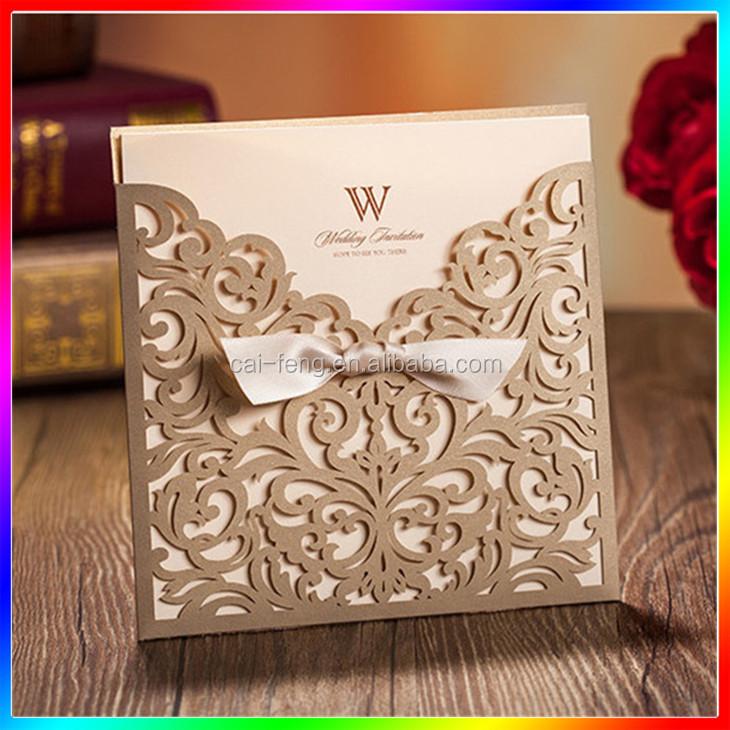2017 Romantic Wedding Invitation Card   Buy Wedding Invitation, Wedding  Invitations