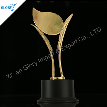 Quality Metal Leaf Custom Awards Wholesale
