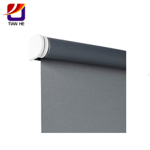 Decorative indoor smooth operation roller blind mechanism