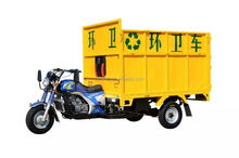 3 Wheel Garbage Collector Hydraulic Dumping Motorcycle with Auto Lifting System