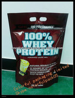 whey protein baby strong protein stand up packaging bags with zipper