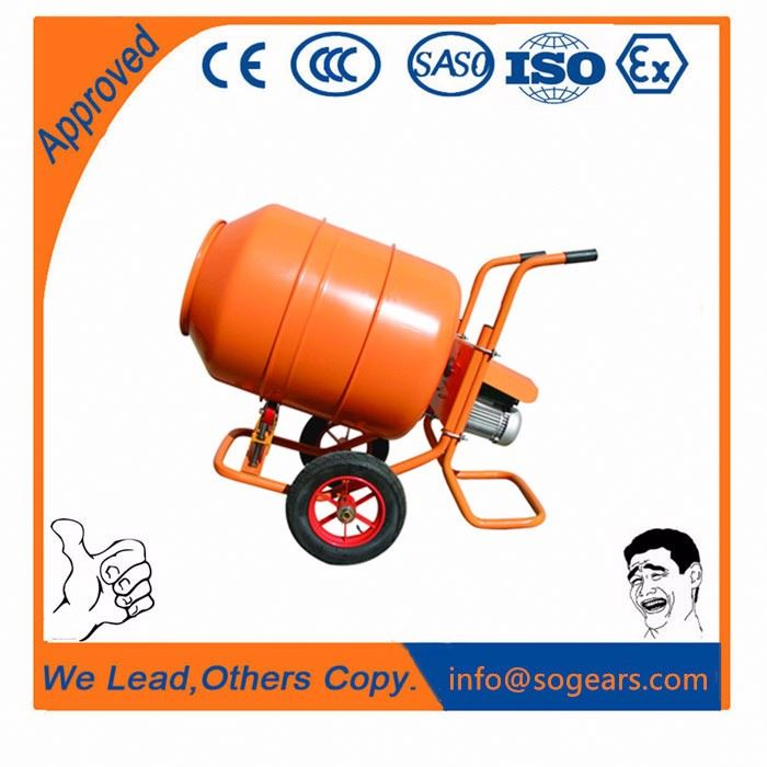 Rugged construction Wheelbarrow stucco Mixer for construction use
