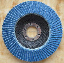 China Manufacture alumina oxide silicon carbide zirconia oxide abrasive Flap Disc