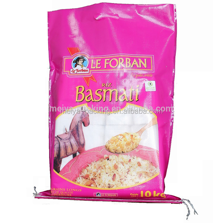 Best price superior quality hominy feed sachet promotion feed laminated rice <strong>packing</strong>