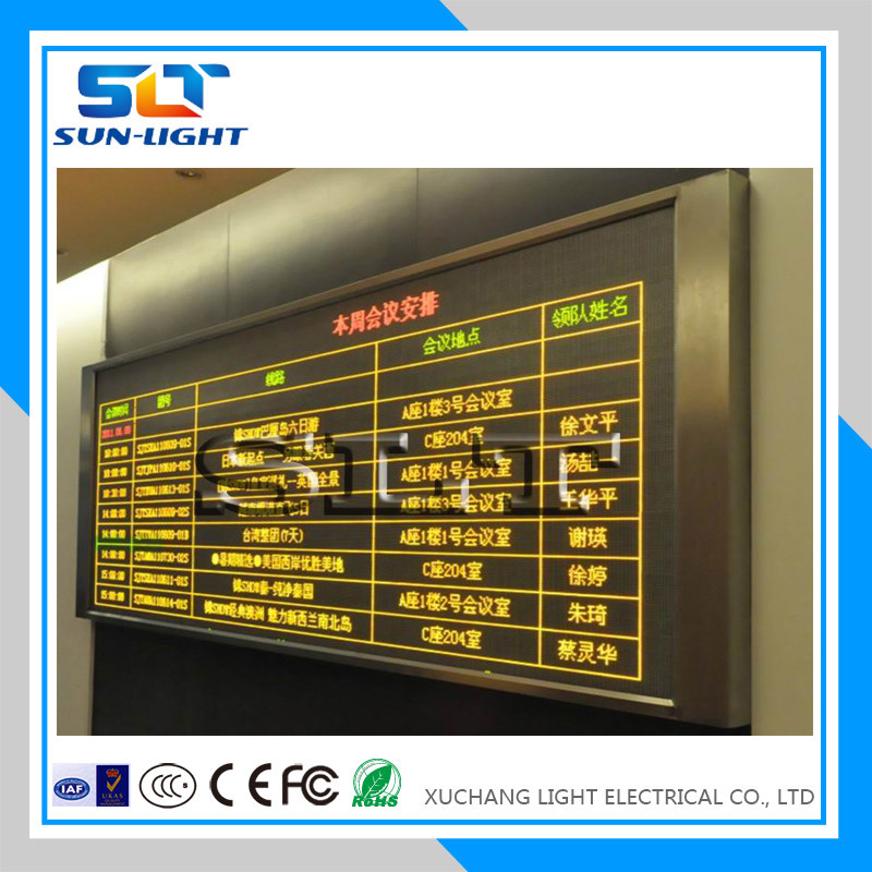 New products outdoor advertising single color led sign board p10 led screen display