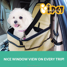 Foldable and Portable Pet Car Carrier Dog Cat Booster Seat Travel Pet Bag