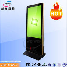 High quality digital pop display portable lcd kiosk display cases