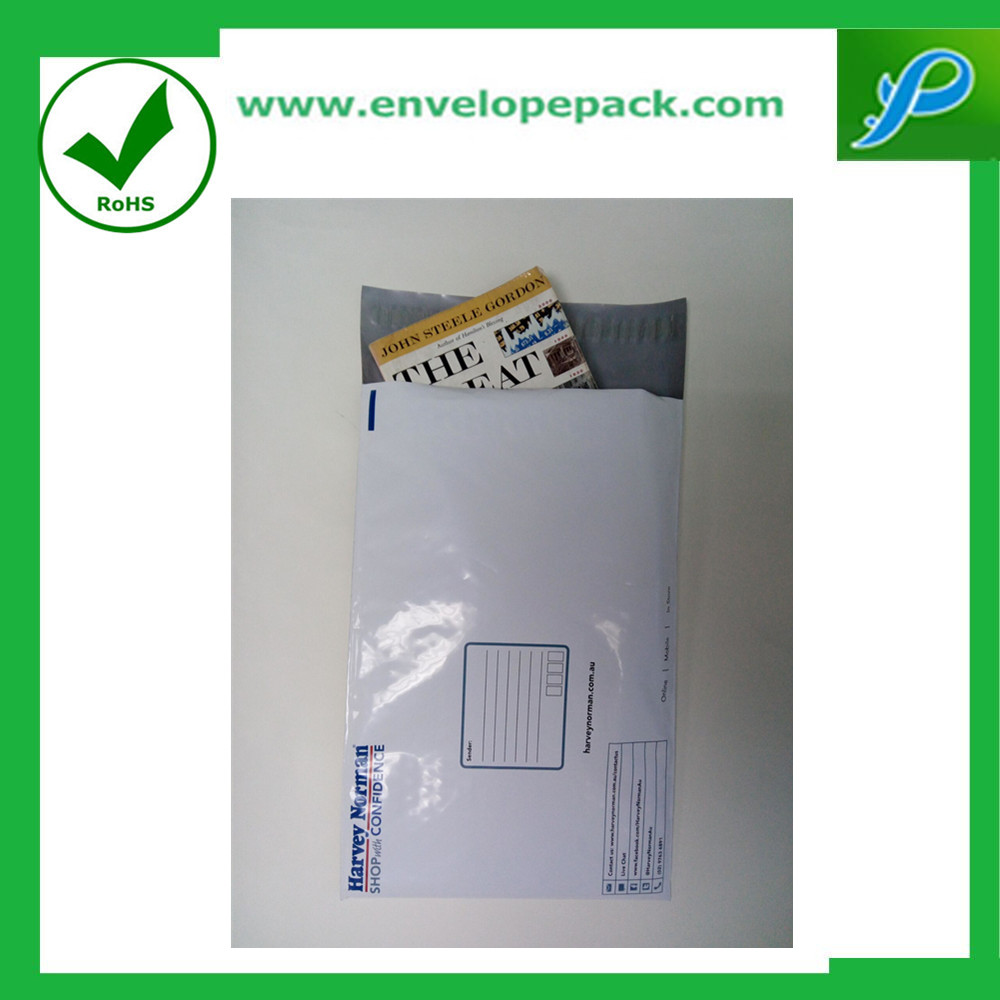Creative Envelope Designs Tamper Proof Gold Poly Mailers
