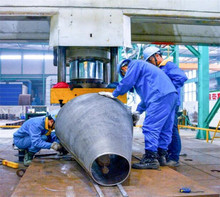 Large Metal Cone Filter maching fabricate