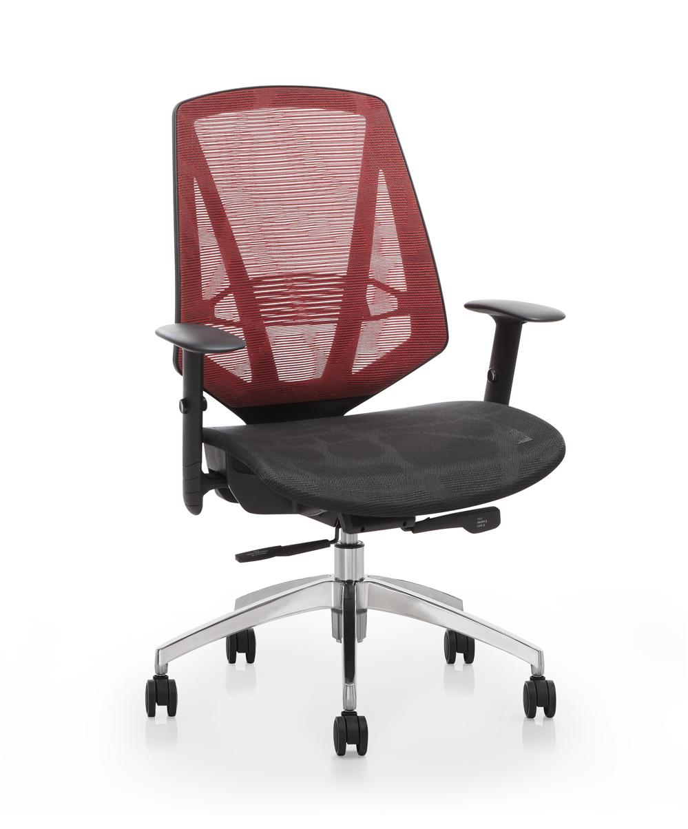Muchos color opcional mobile de espalda de malla silla de oficina silla escritorio de la - Sillas para la espalda ...