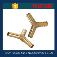 low price brass parts copper pipe flare fitting tube connector brass barb hose fitting brass compression pipe fitting