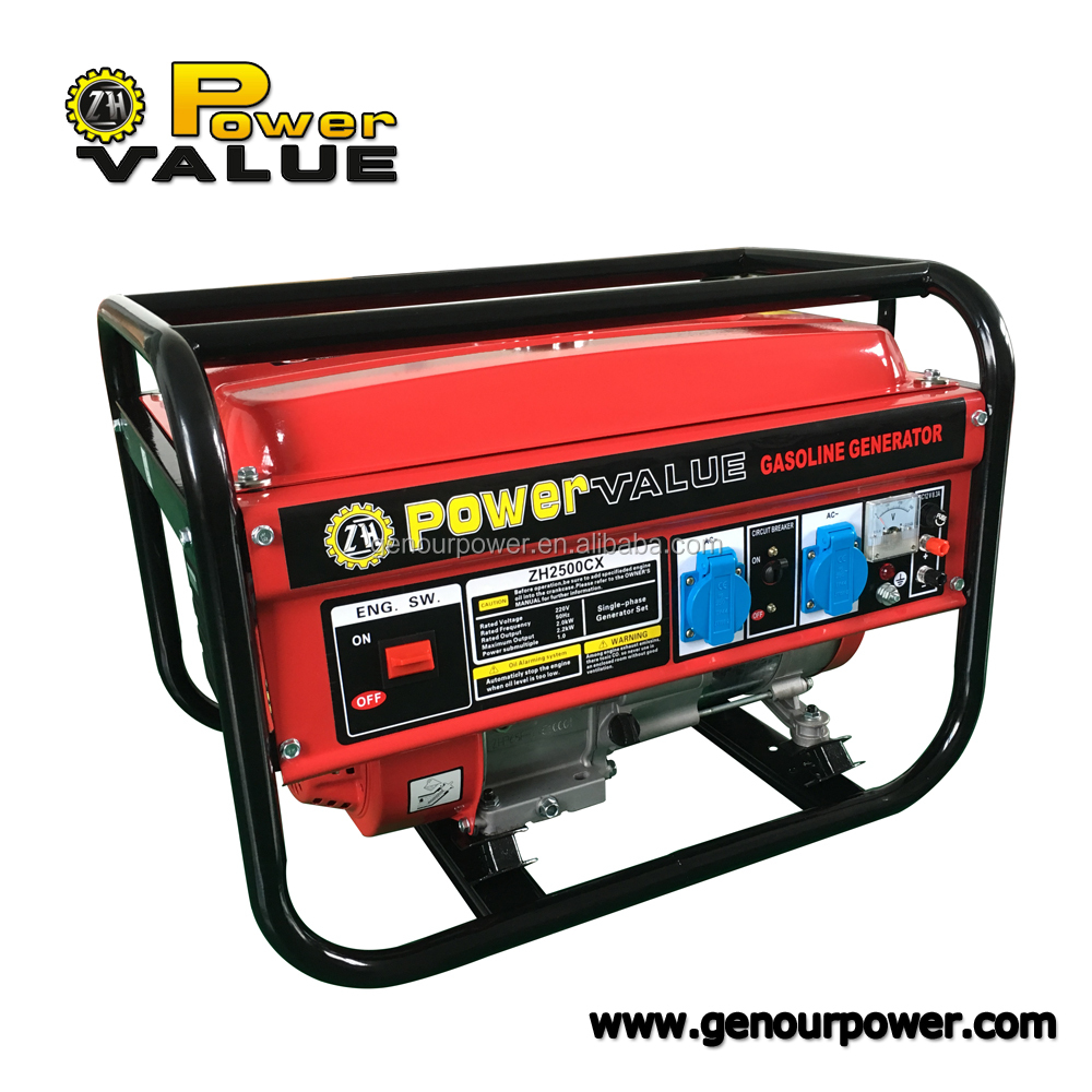 Factory Price Japan Generator China 2kva 2.5kva 2.8kva 3kva 4kva 5ka 6kva Generators For home With Prices For Egypt Market