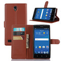 Flip Cover Case for ZTE Zmax 2 Z958 Z955L with Card Slots and Stand function, PU Leather Wallet Phone Case for ZTE Zmax 2