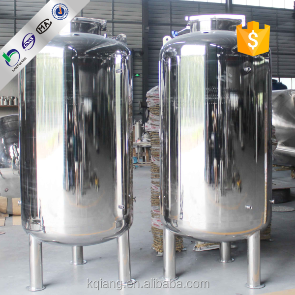 Kangqiang insulated water storage tank/stainless steel water tank manufacturer/pressure vessel water tank (SS 304 316)