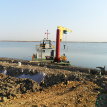 Portable Work Boat/ Tug boat service for Cutter Suction Dredger
